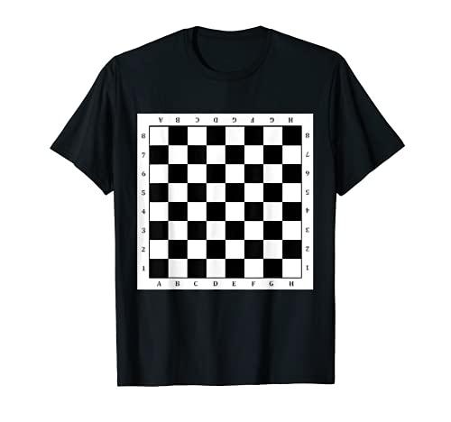 Schachbrett Karneval Fasching Schach Karneval Kostüm T-Shirt