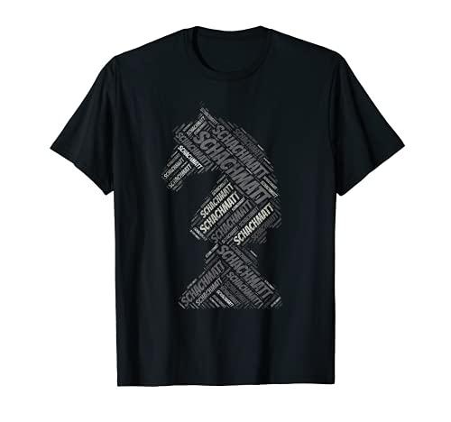 Schachfigur Pferd T Shirt Schachmatt Schach Geschenk T-Shirt