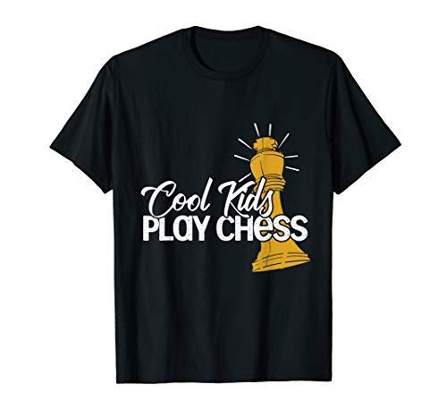 Brettspiel Schachspieler Geschenk Kinder Schach T-Shirt