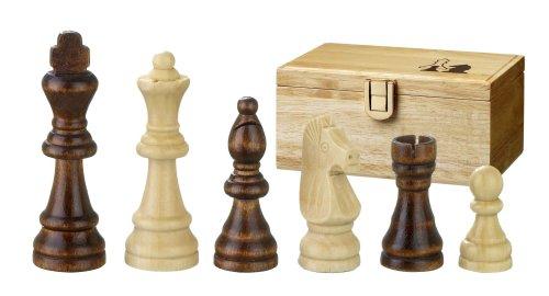 Philos 2002 - Schachfiguren Remus, Königshöhe 70 mm, in Figurenbox