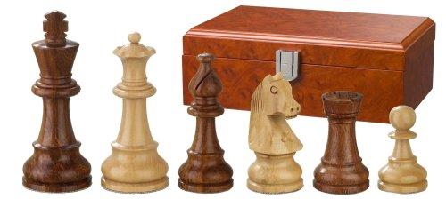 Philos 2064 - Schachfiguren Sigismund, Königshöhe 83 mm, gewichtet, in Figurenbox