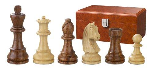 Philos 2189 - Schachfiguren Artus, Königshöhe 110 mm, doppelt gewichtet, in Figurenbox