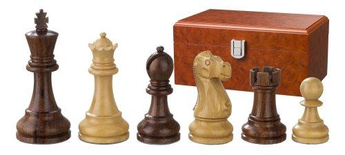 Philos 2242 - Schachfiguren Tutenchamun, Königshöhe 95 mm, dreifach gewichtet, in Figurenbox
