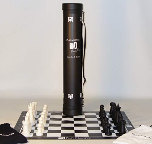 Magnus Carlsen (Spiel Magnus) bildungs schachspiel und vinyl platte