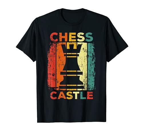 Schach Schachfigur Schachspieler T-Shirt